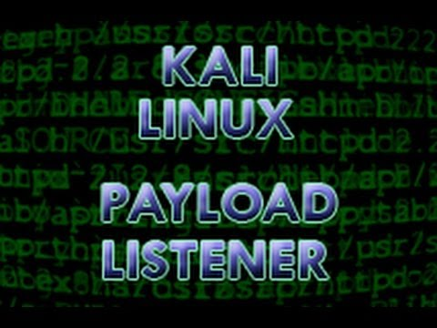 Kali Linux - Create Payload and Listener exe file