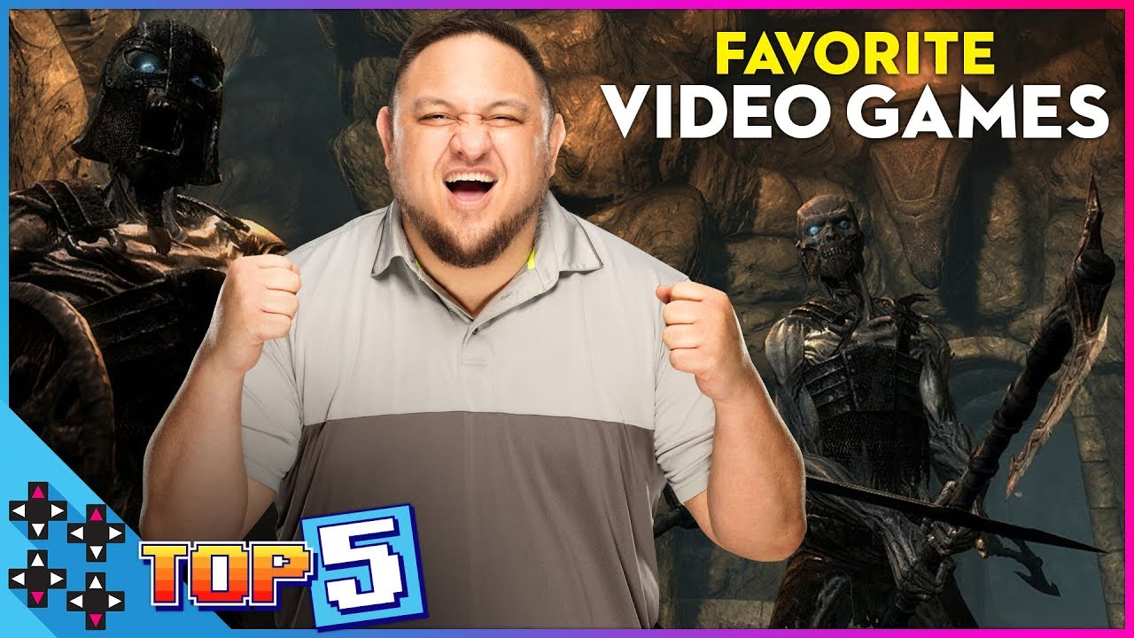SAMOA JOE's ALL-TIME TOP 5 FAVORITE VIDEO GAMES!
