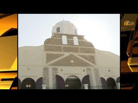 L'inauguration de la Cathédrale transitoire de Port-au-Prince, le samedi 22 novembre 2014.