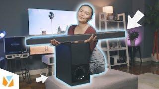 Sony Soundbar HT-X9000F Review 🔊 Our New TV Setup! (Part 2)