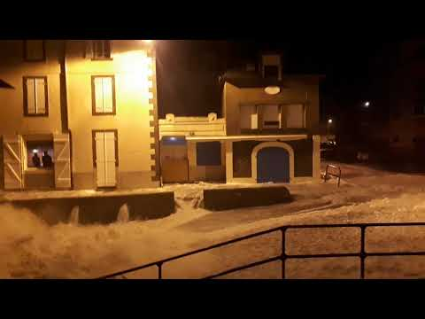 Tempête Eleanor Saint Malo grandes marées mercredi 3 janvier 2018