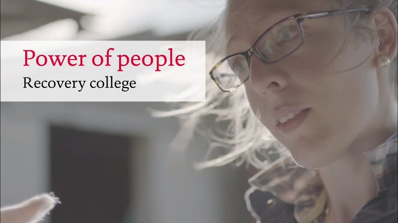 Download Recovery college - From mental health patient to recovery student