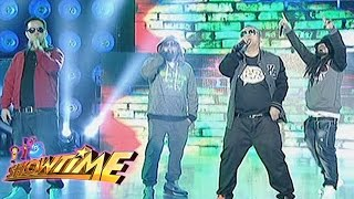 Jamming session with Andrew E and Salbakuta on It's Showtime