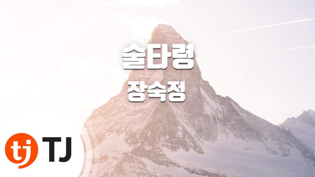 [TJ노래방] 술타령 - 장숙정 / TJ Karaoke