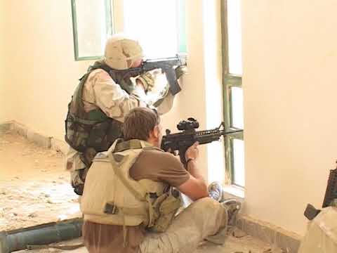 Fighting in Iraq Blackwater Navy SEALs RECON Special Forces