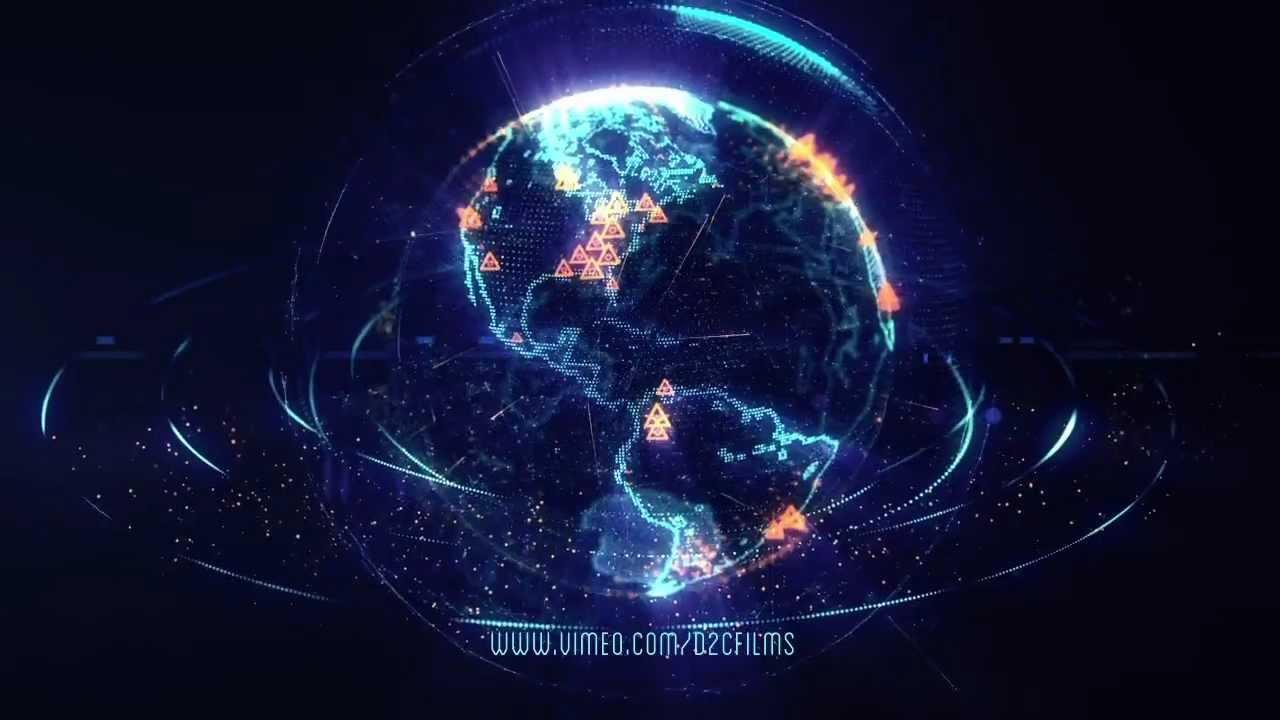 Hologram Wallpaper Hd Trapcode Effects Planeta Tierra Youtube