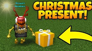 How To Get CHRISTMAS GIFT!🎁 | Build a boat For Treasure ROBLOX