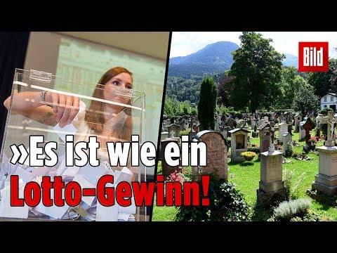Friedhof in Bayern verlost seine Gräber
