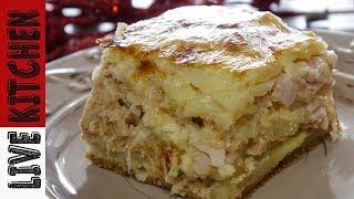 Πατάτες Ογκρατέν  - Potato Gratin Recipe - Live Kitchen
