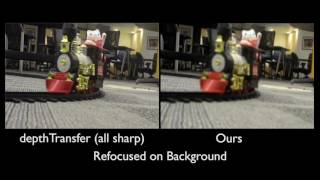 Light Field Video Capture Using a Learning-Based Hybrid Imaging System (SIGGRAPH 2017)