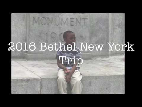2016 Bethel New York Trip