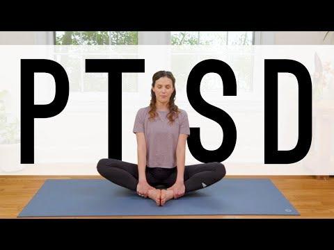 Yoga For Post Traumatic Stress - PTSD  |  Yoga With Adriene