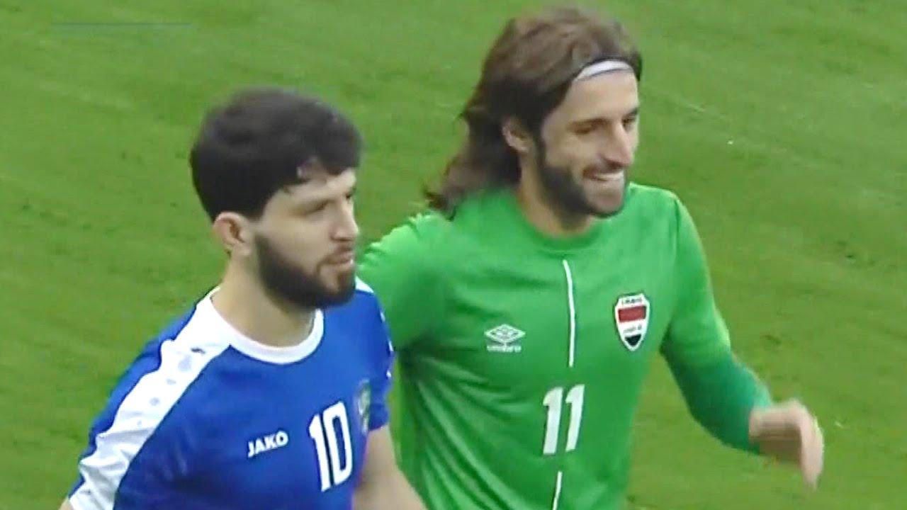 ملخص مباراة العراق وأوزبكستان | فوز ومستوى رائع لأسود الرافدين وحضور جماهيري كبير | ودية 29-3-2021
