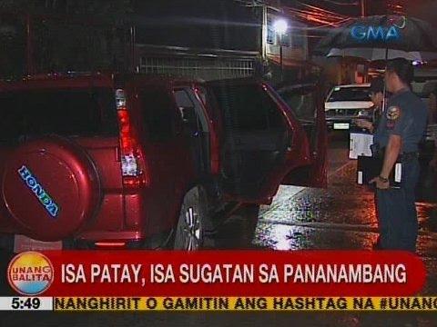 UB: Isa patay, isa sugatan sa pananambang sa Calumpit, Bulacan