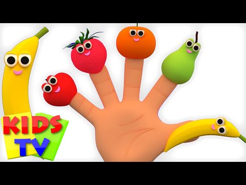 Fruits Finger Family | Learn Fruits | Fruits Song | Nursery
