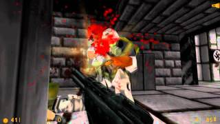 Bunker 3D (Half-Life Mod) - 12 Min Gameplay Demo