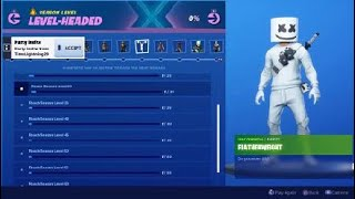 Fortnite Season X Level Headed Challenges With Rewards