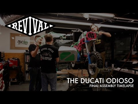 Revival Cycles' Ducati Odioso - Final Assembly Timelapse