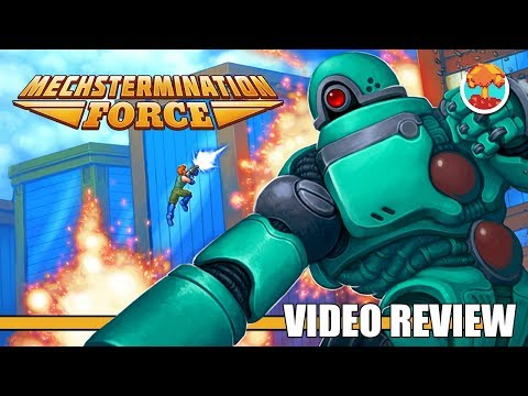 Review: Mechstermination Force (Switch) - Defunct Games