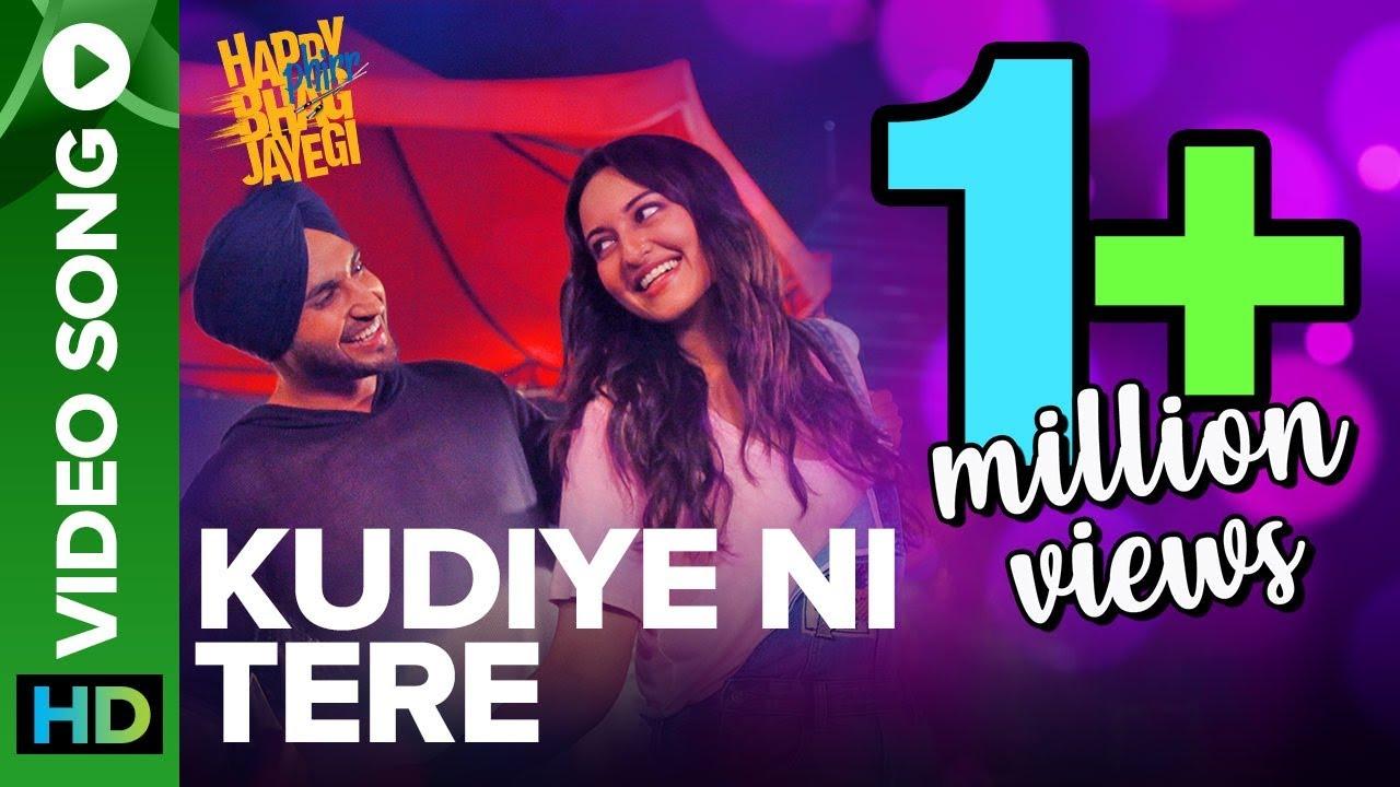 Download Kudiye Ni Tere   Video Song   Happy Phirr Bhag Jayegi   Sonakshi Sinha, Jimmy Shergill, Jassie Gill
