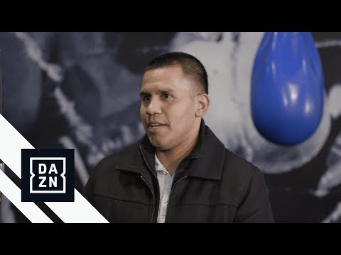 "Former World Champion Juan ""Baby Bull"" Diaz Catches Up With DAZN"