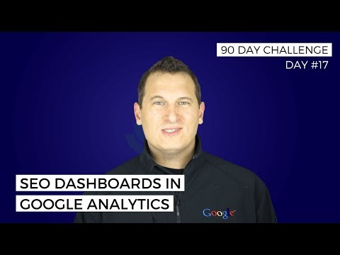 How to create a Google Analytics SEO dashboard