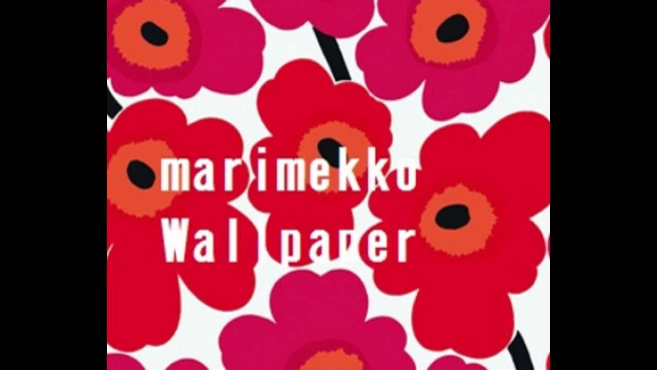 マリメッコ壁紙の事例ご紹介 Youtube
