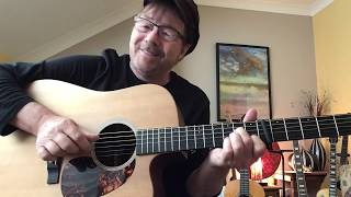 How to Play NEVER GOING BACK AGAIN by Fleetwood Mac.