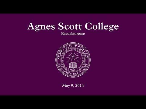 Agnes Scott College, Baccalaureate 2014