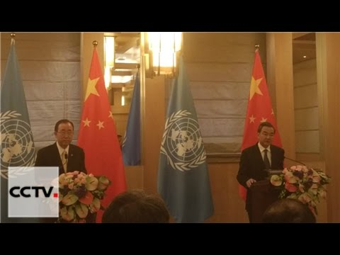 UN Secretary-General urges peaceful resolution to South China Sea issue