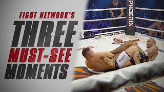 Saulo Cavalari Submitted at Phoenix FC 3 | Top 3 Must-See Moments