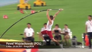 Pawel Wojciechowski (POL) World Pole Vault Champion 2011