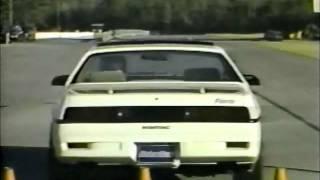 1988 Pontiac Fiero formula vs Toyota MR2