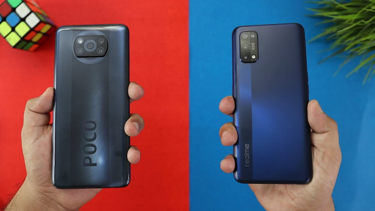 Poco X3 Vs Realme 7 Pro SpeedTest Comparison I (SD 732G Vs 720G)