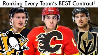 Ranking Every Nhl Team's Best Contract! (hockey List Flames/penguins/knights Talk 2019)