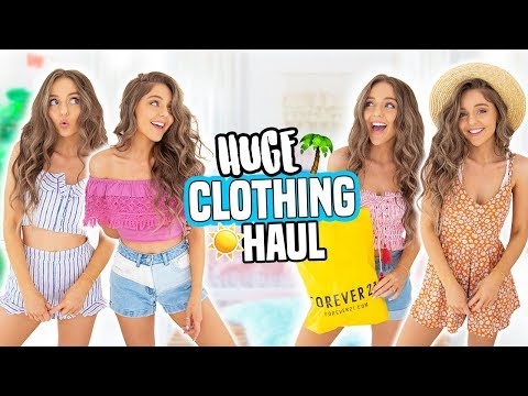 4dc3562261 HUGE TRY-ON CLOTHING HAUL! Forever 21, PacSun, Hollister and more ...