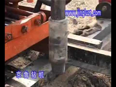 Hydraulic drilling rig AKL-100L for exploration or water well.