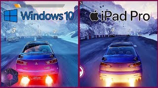 Asphalt 9: Legends   PC (Windows 10) vs. iPad Pro 10.5 Graphical Comparison
