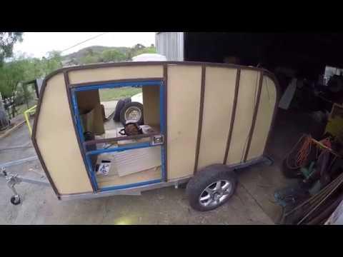 Teardrop Camper DIY build Update