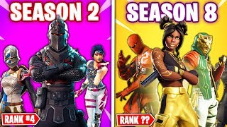 Top 8 Fortnite Seasons RANKED WORST TO BEST!