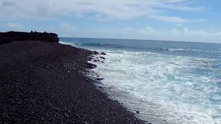 Isaac Hale Beach Park Hawaii After Lava Flow