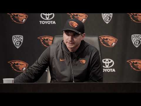 Oregon State Beavers - Arizona throttles Beavers 35-14. Jonathan Smith reacts!