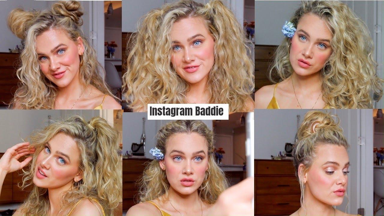 Easy Cute Instagram Baddie Hairstyles