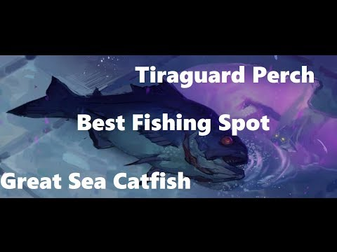 Best Fishing Spot | Tiraguard Perch & Great Sea Catfish | WoW BFA Fishing Guide