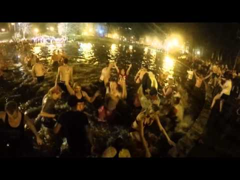 2014 Ohio State University Mirror Lake Jump