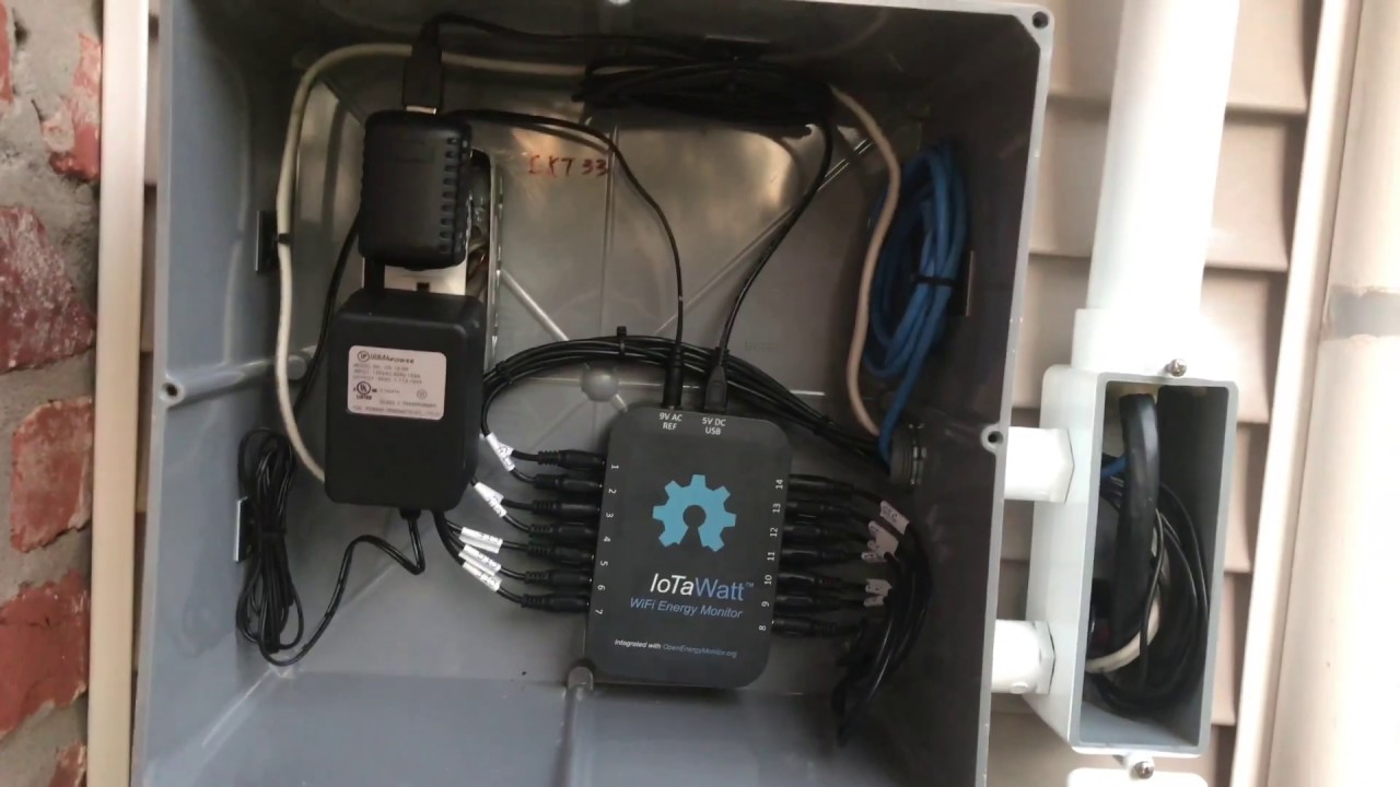 IoTaWatt Energy Monitor And Open EmonCMS with the ESP8266