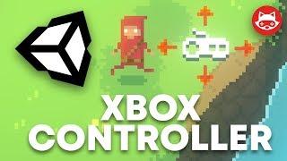 Unity Xbox Controller Joystick Input with Input Manager - Tutorial