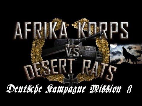 Afrika Korps vs Desert Rats Deutsche Kampagne Mission 8