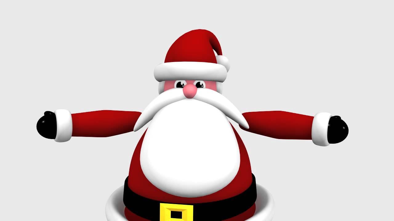 Buon Natale 3d.Auguri Di Buon Natale E Felice Anno Nuovo 3d Short Youtube