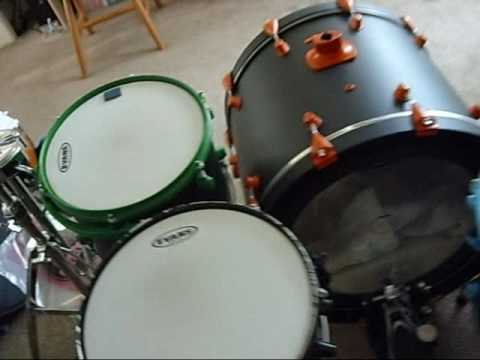 Paint Drumset Rocafer Doovi